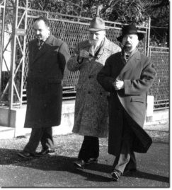 Edmondo Casadidio, Ezra Pound e Tullio Colsalvatico - Tolentino, 15 Marzo 1960