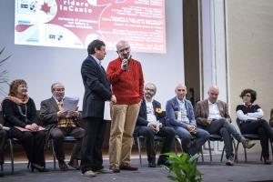 Mario Trapletti vincitore dell'edizione 2014 del Premio Colsalvatico